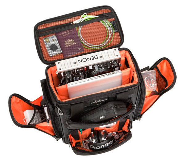 Ultimate Producerbag Large Black Orange Inside Udg