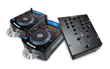 DJ SET: 2x NDX500 + M2 Black