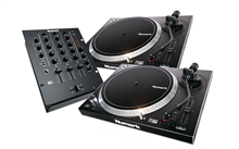 DJ SET: 2x NTX1000 + M4 Black | Numark