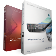 Notion 6 + Studio One Artist 3 | PreSonus
