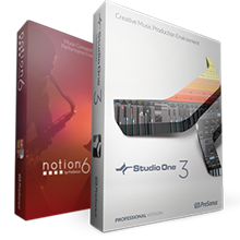 Notion 6 + Studio One Professional 3 | PreSonus