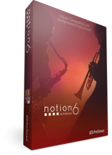 Notion 6 notační program,  multilicence | PreSonus