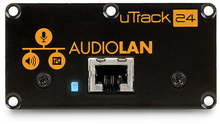 Audio LAN Option Card for uTrack24 |