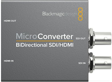 Micro Converter - BiDirectional SDI/HDMI wPSU | Blackmagic Design