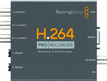 H.264 Pro Recorder | Blackmagic Design